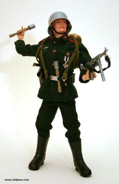 Vintage G.I. Joe German Soldier