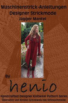 Patrón de punto de máquina de capa de Jagger