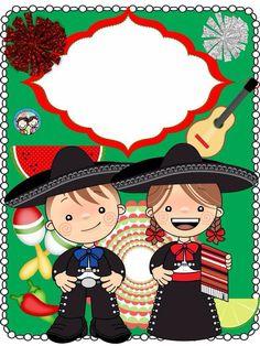 Dibujos bonitos pinteres for Diario mural fiestas patrias chile