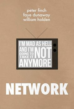 Network. Sidney Lumet. 1976.