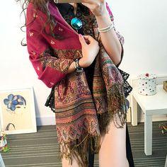 2016 womens fall fashion sjaals vrouwen dunne lange georgette shawl leaf print sjaal en sjaals