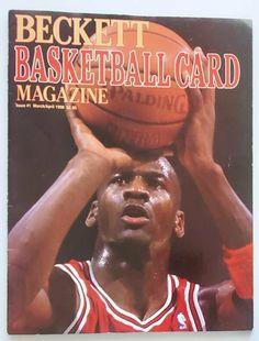 Beckett Basketball Card Magazine Issue #1 March April 1990 Michael Jordan