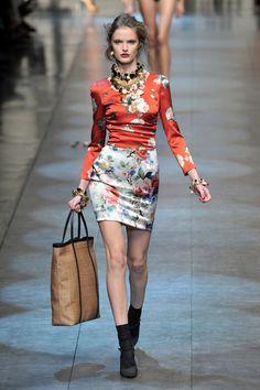 Dolce & Gabbana at Milan Spring 2010