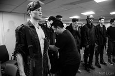 Photography by Matt Licari - ASHER LEVINE SS15 Backstage + Behind the Scenes NYFW September 9th 2014