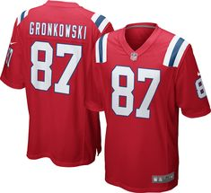 3922d4ae184 Nike Youth Alternate Game Jersey New England Patriots Rob Gronkowski #87