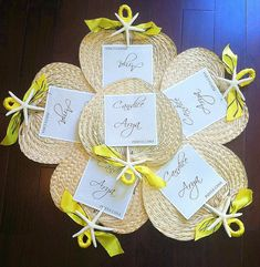 Party favor / program design idea    Palm Leaf Hand Fans with Ceremony Program by UrbanElementsDesign, $4.25