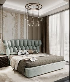 Make a bedroom feel luxurious rather than just comfortable, chic or on trend is a hard challenge. Explore a curated range of amazing products options to help you on this task. Modern Luxury Bedroom, Luxury Bedroom Furniture, Luxury Bedroom Design, Bedroom Bed Design, Home Room Design, Bed Furniture, Luxurious Bedrooms, Bedroom Wall, Living Room Designs