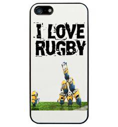 Funda #iphone5 Minions en la touche #rugby #minions http://www.latostadora.com/emcmasquecamisetas/1/10