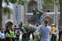 Deep Journey to the Uzbek Culture Peaceful Life, Mount Rushmore, Lion Sculpture, Journey, Tours, Culture, City, Travel, Deep