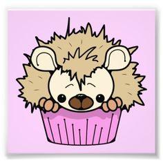 Hedgehog Cupcake, Cartoon Cupcakes, Homemade Gummy Bears, Personalized Address Labels, Cute Cakes, Paper Design, Pastel Pink, Cute Cartoon, Bowser