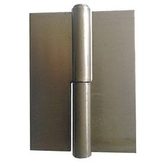 Lift-Off Hinge: Surface, Removable Pin, Stainless Steel, 3 in Door Leaf Lg, 2 in Door Leaf Wd, 0.078 in Leaf Thickness, Plain
