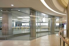 Apple Store, Dresden, Germany.