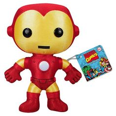 Iron Man Plush Toy $9.99