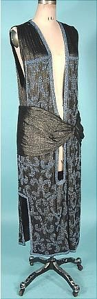 1920's Beaded Overdress
