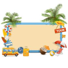 New Post kids summer vacation clip art Clipart Gallery, Beach Clipart, Ocean Party, Label Paper, Frame Clipart, Borders And Frames, Creative Advertising, Note Paper, Writing Paper