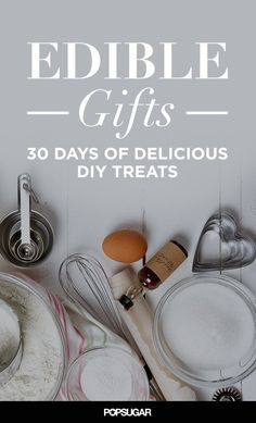 30 Days of Edible Gifts