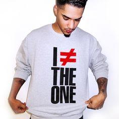 Need. I Am Not The One Crewneck Sweatshirt | Shop Kid Fury!