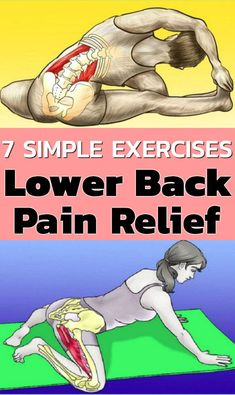 6 Stretching Exercises to Help Reduce And Relieve Lower Back Pain As with any sort of pain, it's crucial to figure out the source so you can properly treat it. Sharp or stabbing pain that extends…More Lower Back Exercises, Stretching Exercises, Core Exercises, Exercise For Lower Back, Stretches, Lower Back Pain Relief, Low Back Pain, Abdominal Exercises, Abdominal Muscles