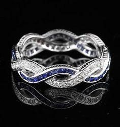 I want this ring. With rubies instead of sapphires though.