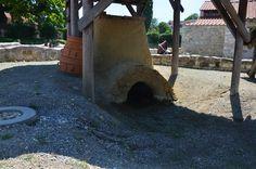 Der Archäologische Park Carnuntum im Juli 2014 - Brennofen