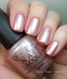 OPI Think Merry Pink Merry by Paint Those Piggies!