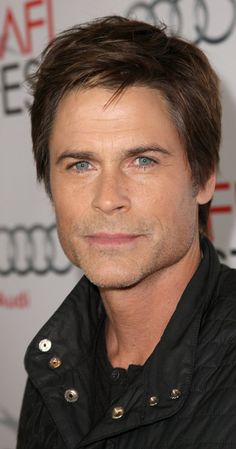 Rob Lowe is turning 50 this year?! Oh my god, he really is Chris Traeger.