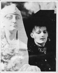 black and white, cemetery, darksider, goth, goth aesthetics, goth boy, gothic, gothic subculture, graveyard, old school, portrait, trad goth, Roman Chimienti