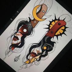 Flash Art Tattoos, Tattoo Flash Sheet, Tattoo Sketches, Tattoo Drawings, Snake Painting, Occult Tattoo, Tattoo Apprenticeship, Knife Tattoo, Artist Problems