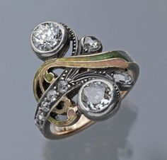 Vintage Engagement Ring --- this is so cool! by LiveLoveLaughMyLife
