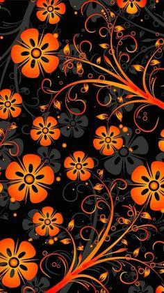 О Flowery Wallpaper, Orange Wallpaper, Flower Phone Wallpaper, Sunflower Wallpaper, Graphic Wallpaper, More Wallpaper, Cellphone Wallpaper, Colorful Wallpaper, Photo Wallpaper