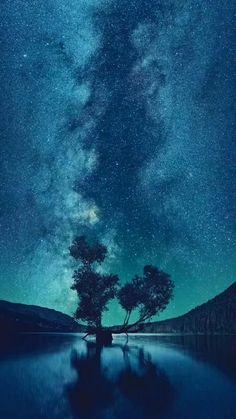 🌀Beautiful night sky🌀 #live #wallpaper