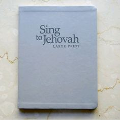 New!!! Sing to Jehovah songbook - same finish as our new simplified bible. . Thank you from JW-Archive.org