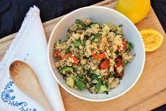 Fresh And Flavorful Quinoa Tabbouleh Recipe
