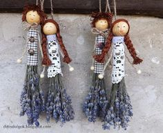 Lavender Wands, Lavender Crafts, Lavender Blue, Lavander, Nursing Home Activities, Deco Floral, Crafts To Make And Sell, Country Crafts, Cute Crafts