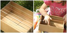 homemade musical instruments - easy ideas using items from the recycle bin. (happy hooligans)