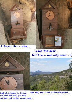 Last week I found this amazing cache :)
