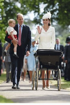 Duchess Kate Looks Stunning In White At Princess Charlotte's Christening
