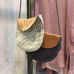 Japan Fashion Button Open Knitting Bag Cheap Bag For Girl
