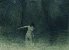 Alfred Kubin - Der Sumpf, 1903–05 by Aeron Alfrey, via Flickr