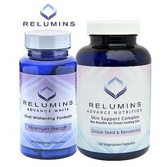 Lightening Cream: Relumins Advanced White Oral Whitening And Anti-Aging Capsule Set -> BUY IT NOW ONLY: $68.95 on eBay!