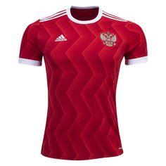 Russia 2017 Home Soccer Jersey - WorldSoccershop.com   WORLDSOCCERSHOP.COM