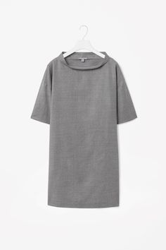 COS is a contemporary fashion brand offering reinvented classics and wardrobe essentials made to last beyond the season, inspired by art and design. Wool Dress, Contemporary Fashion, Fashion Brand, Work Wear, Tunic Tops, Style Inspiration, Shirt Dress, Clothes For Women, Mens Tops