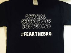 A personal favorite from my Etsy shop https://www.etsy.com/listing/288248931/cheer-brother-shirt