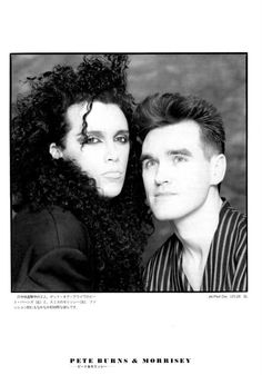 Pete Burns + Morrisey