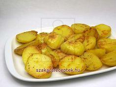 Vajon pirított krumpli • Recept | szakacsreceptek.hu Potatoes, Vegetables, Essen, Potato, Vegetable Recipes