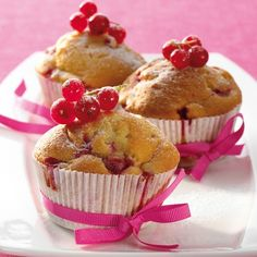 Johannisbeer-Joghurt-Muffins Rezepte | Weight Watchers