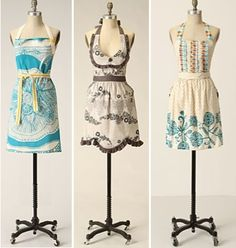 Older Anthropologie Aprons