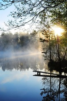 Painting nature mists ideas for 2019 Landscape Art, Landscape Photography, Nature Photography, Beautiful World, Beautiful Places, Beautiful Pictures, Lake Life, Beautiful Landscapes, The Great Outdoors