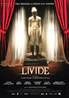 """""""Livide"""" is a 2011 French gothic fantasy movie directed and written by Alexandre Bustillo and Jul Fien Maury. Perfect for a cozy (and spooky) night this November! Repin and share"""