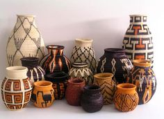 Werrege baskets from Colombia